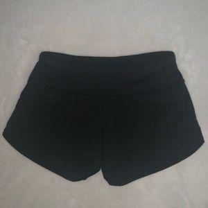 Lululemon Athletica, Black Shorts